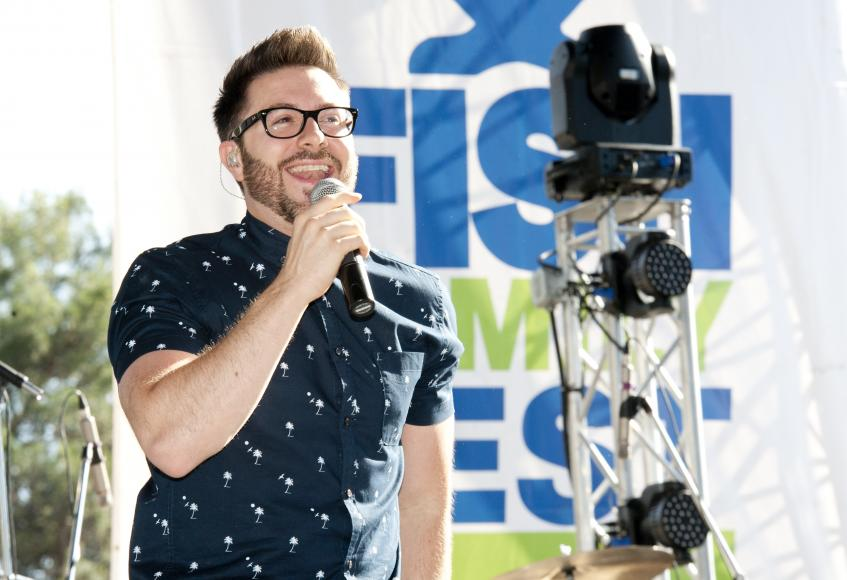 From American Idol- Danny Gokey